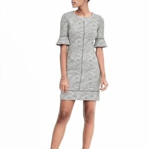 Banana Republic - Flounce Sleeve Sheath Dress